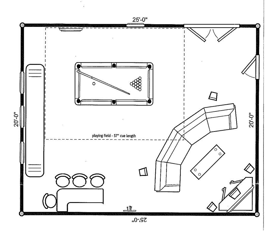 theater room layout