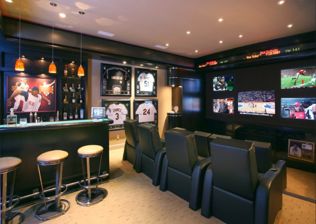 seating man cave