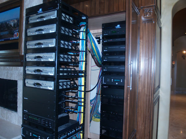 home automation rack